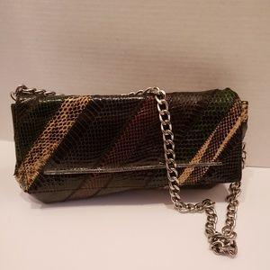 Marc Jacob's multi color snakeskin bag